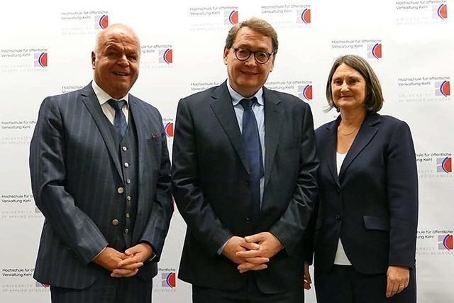 Joachim Beck wird neuer Rektor der Hochschule Kehl