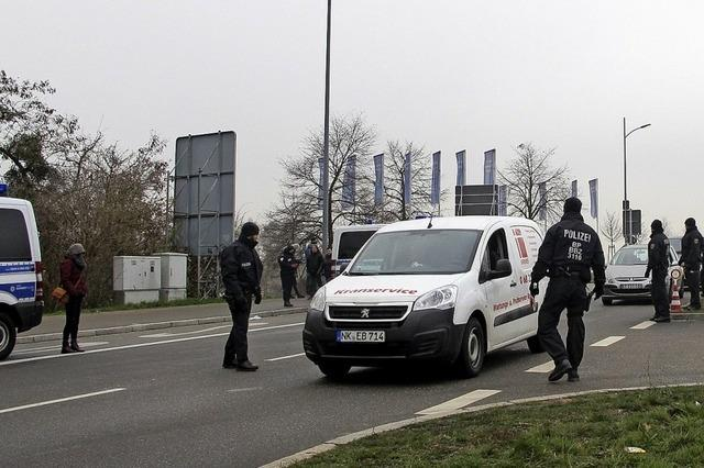 Strenge Grenzkontrollen in Kehl