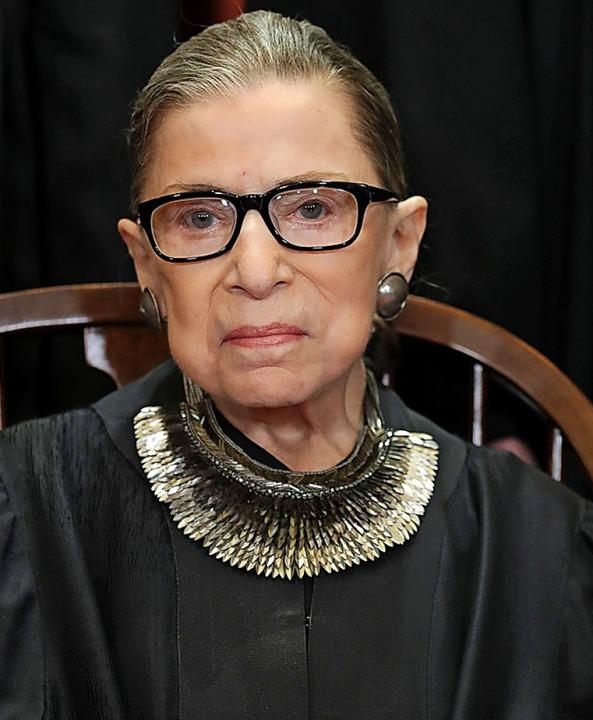 Ruth  Bader Ginsburg    | Foto: AFP