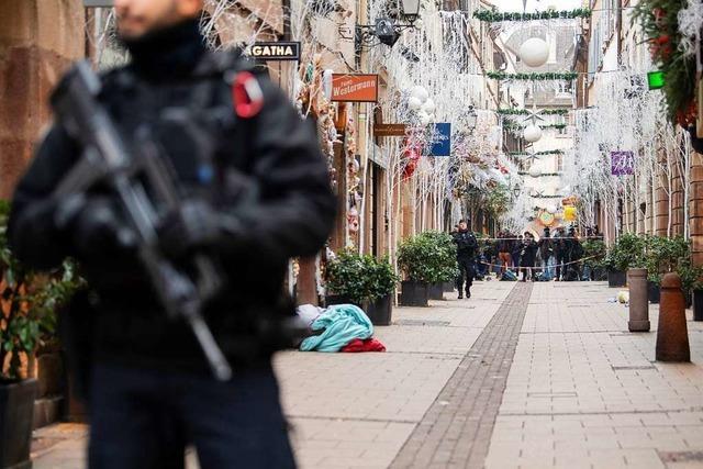 Die Stille nach den Schüssen in Straßburg