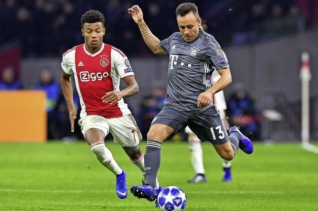 In der Champions League spielt München 3:3 gegen Amsterdam