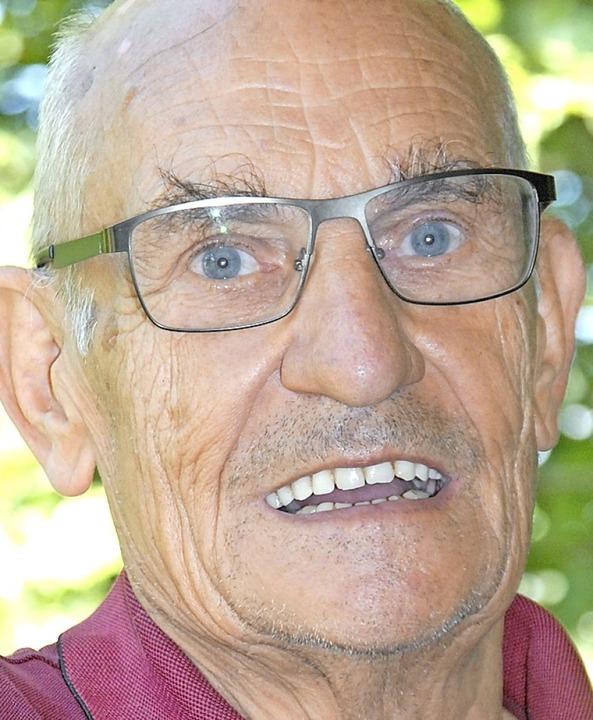 Werner Ohme (72)    Foto: Leony Stabla