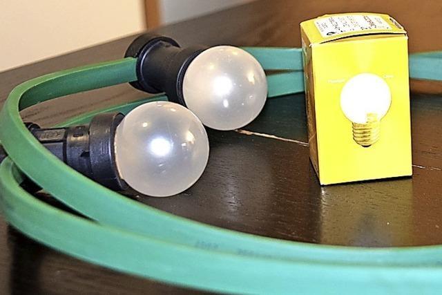 Lichterketten jetzt auch mit Sparbeleuchtung