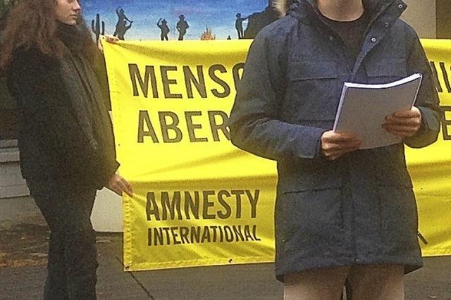 Menschenrechten zur Geltung verhelfen
