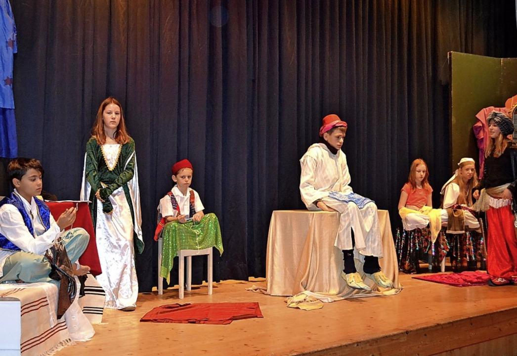 Der falsche Prinz heißt das Theaterstü...St. Johannes im Dezember präsentiert.     Foto: Liane Schilling
