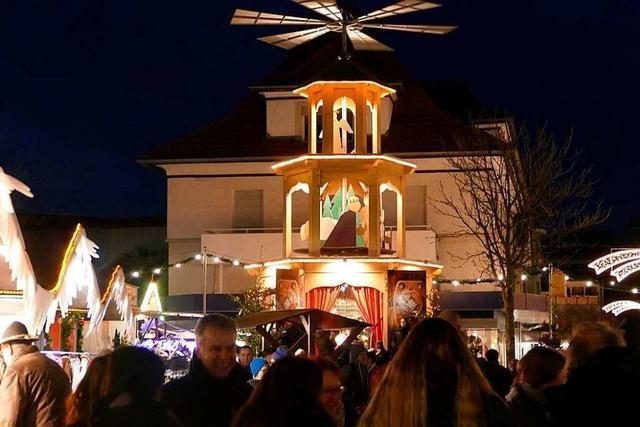 Fotos: Der Bad Krozinger Weihnachtsmarkt ist eröffnet