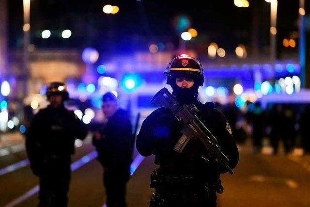 Mutmaßlicher Straßburg-Attentäter von Polizei erschossen