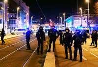Die Polizei Frankreichs war im Dauereinsatz – unterstützt von der Armee