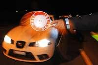 Polizei kontrolliert an den Grenzen 1600 Autofahrer