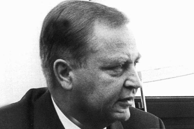 Früherer BKA-Chef Horst Herold gestorben