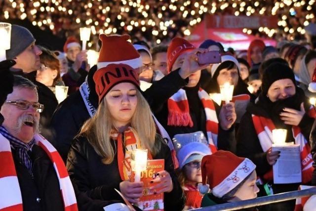 Singen gegen den Weihnachtsstress