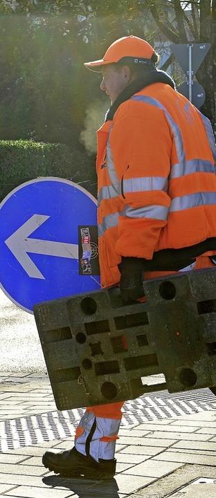 Fertig! Die neue Kronenbrücke ist jetz...r neuen Straßenbahnstrecke übernehmen.  | Foto: Ingo Schneider