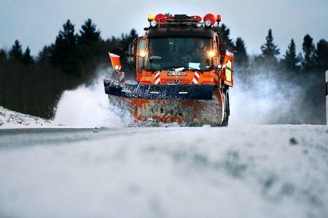 Straßenmeistereien in der Ortenau sind für den Winter gerüstet