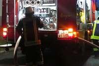 Feuerwehr bekämpft Kaminbrand in Wittlingen