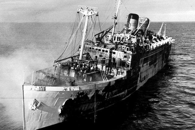 Wie ein Hotelier aus Schluchsee eine Schiffskatastrophe überlebte