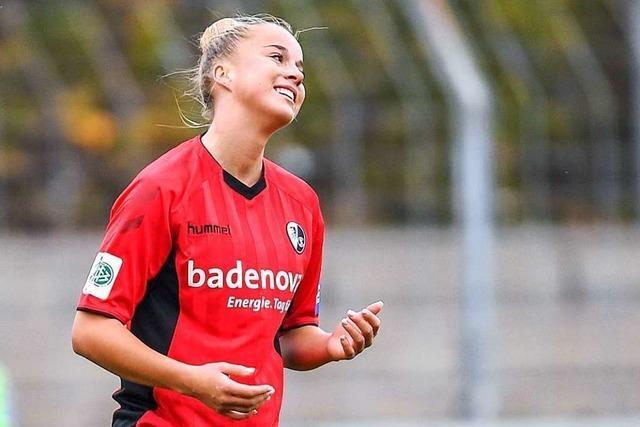 Die Frauen des SC Freiburg gehen mit einem 2:0-Sieg in die Winterpause