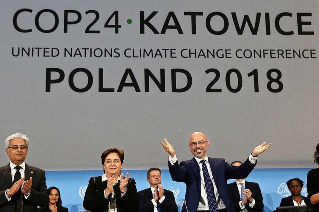 Der Weltklimagipfel in Polen ist zu Ende gegangen.  | Foto: dpa