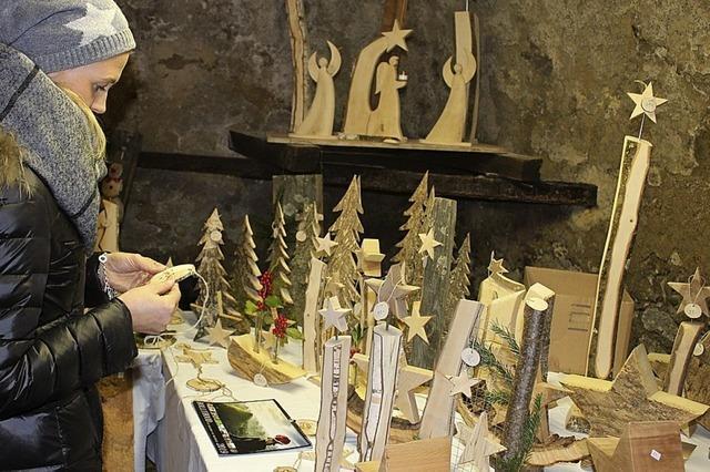 Weihnachtsmarkt mit Atmosphäre auf dem Wisdishof