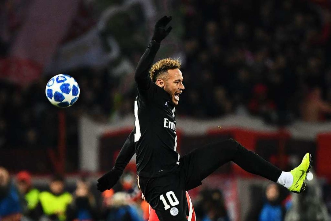 Stars wie Neymar (PSG) dominieren nach wie vor die Champions League.    Foto: AFP
