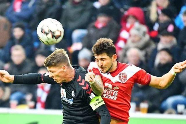 Der SC Freiburg ist gegen Düsseldorf dem eigenen Ballbesitz nicht gewachsen