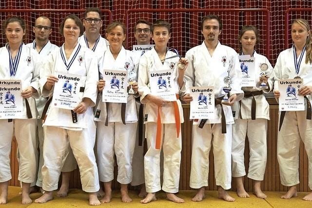 Sechs Titel für Kappels Karatekämpfer