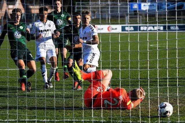 A-Junioren des SC Freiburg erinnern an Real Madrid