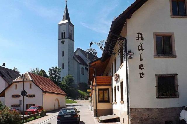 Das Traditionslokal Adler in Rickenbach schließt zum Jahresende