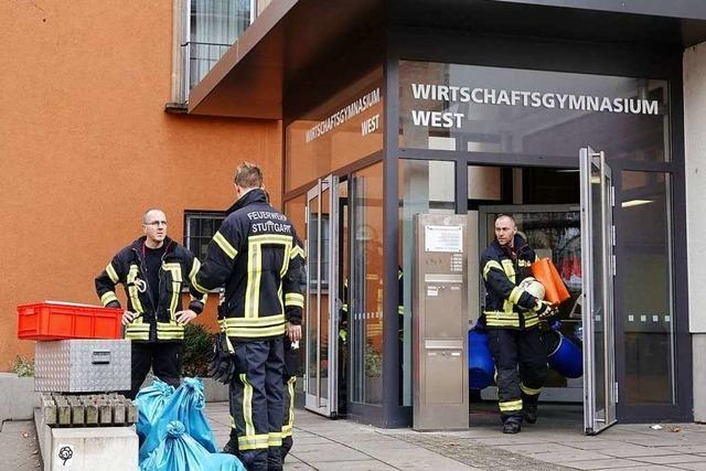 100 Schüler eines Stuttgarter Gymnasiums nach Chemie-Zwischenfall evakuiert
