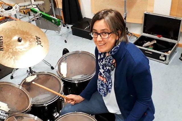 Der Musikverein Öflingen heizt mit mediterranen Klängen ein