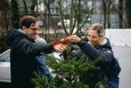Fotos: Weihnachtsbaum-Aktion für BZ-Werbekunden in Zarten