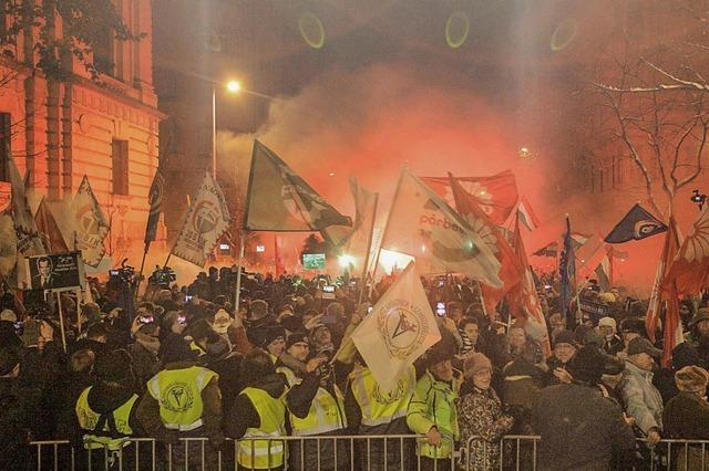 Regierung nennt Proteste gegen Orban
