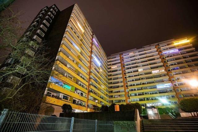 Drei Tote nach Schüssen in Heidelberger Hochhaus