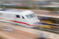 Der Bahnverkehr auf der Rheintalstrecke war erheblich gestört