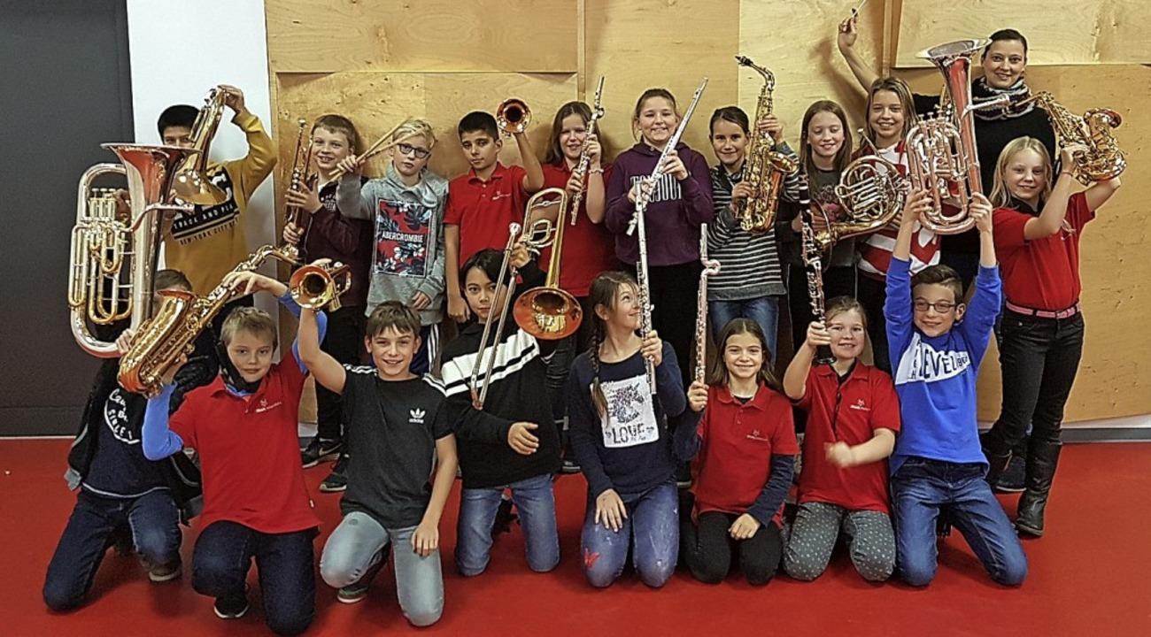 Begeisterung für Musik: das Vororchester des MV Heitersheim  | Foto: privat