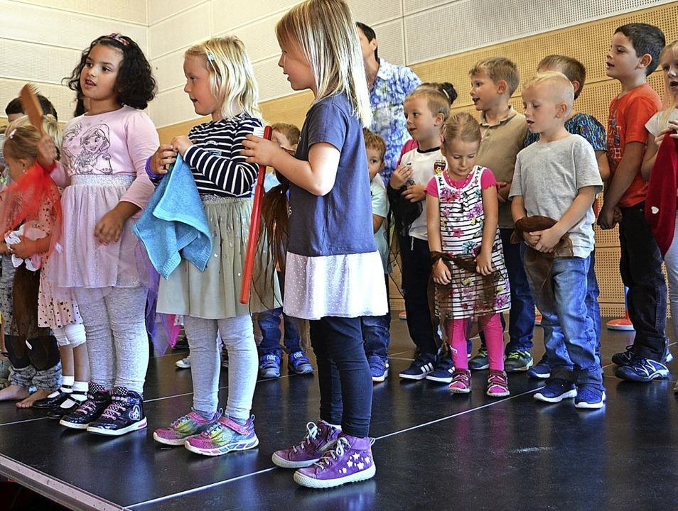 <BZ-FotoAnlauf>Kindergarten und Krippe...n im Herbst mit den Kleinen gefeiert.     Foto: Paul Berger