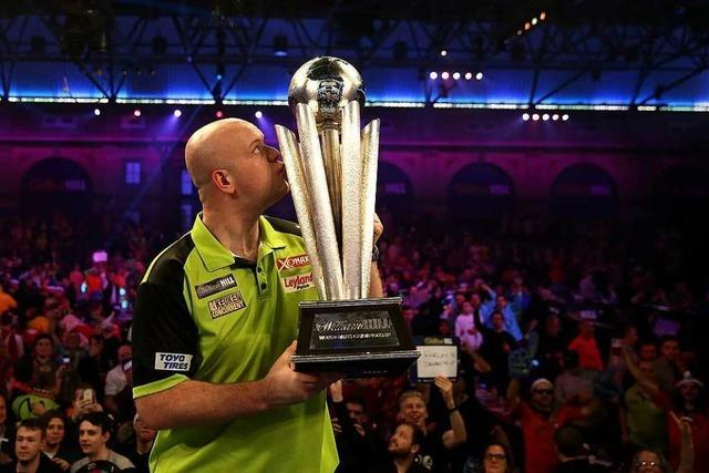 Michael van Gerwen gewinnt die Darts-WM in London