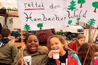 """""""Wir wollen, dass der Hambacher Wald bleibt"""""""