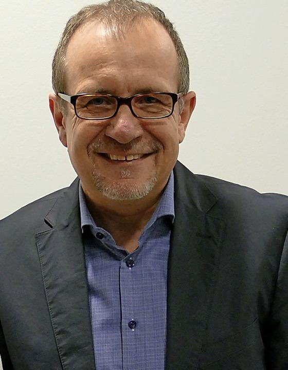 Bürgermeister  Friebolin lädt zum Neuj... in die Eimeldinger Reblandhalle ein.   | Foto: Langelott