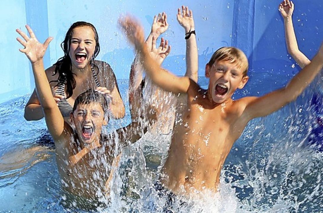 Der Badespaß im Laguna hat seinen Preis.   | Foto: Welti