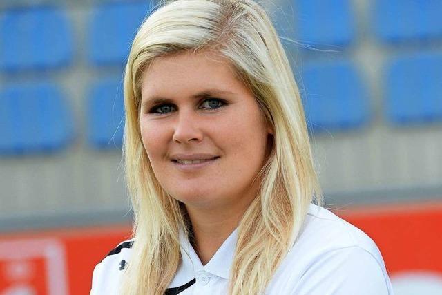Diese Fußballtrainerin soll das Cloppenburger Männerteam retten