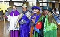 Mehr als 30 Sternsinger der Pfarrei St. Blasius ziehen wieder durch Zähringen