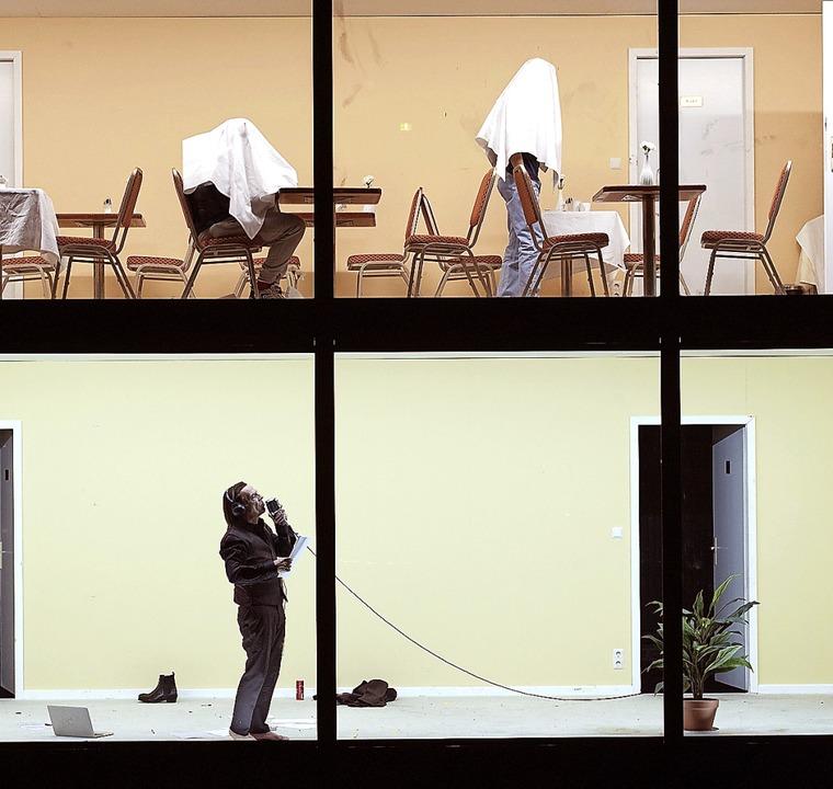 Alice Babidges Bühnenbild     Foto: Reinhard Werner