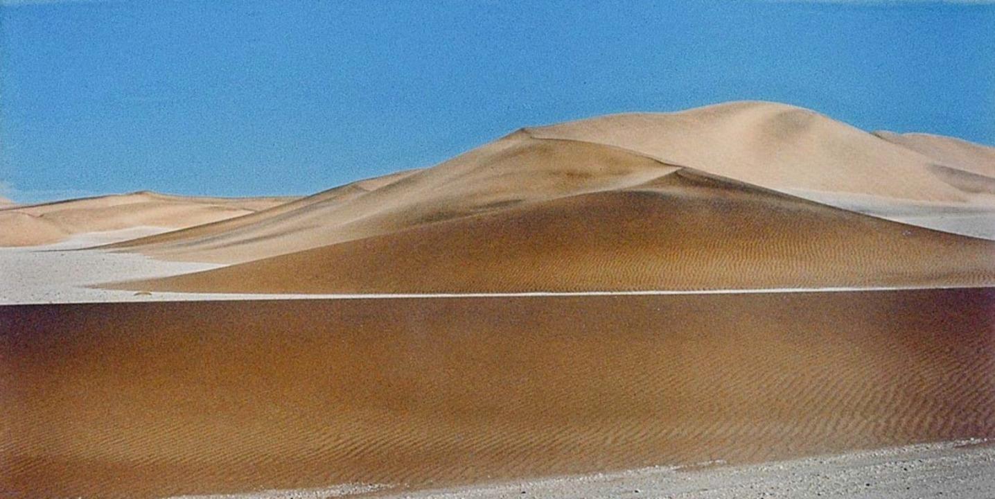 Felicitas Vogler: Namib Wüste, Namibia (1973)  | Foto: Kunstmuseum