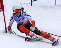 Ronja Wiesler siegt im Schneetreiben