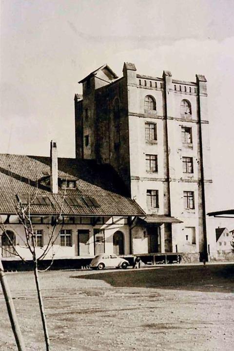 So präsentierte sich der Altweiler Tur...ltkrieg. Diese Aufnahme entstand 1959.  | Foto: Stadtarchiv Weil am Rhein