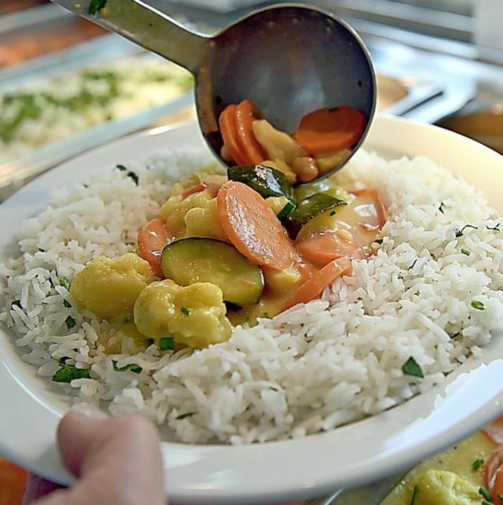 Curry-Gemüse mit Reis  | Foto: dpa