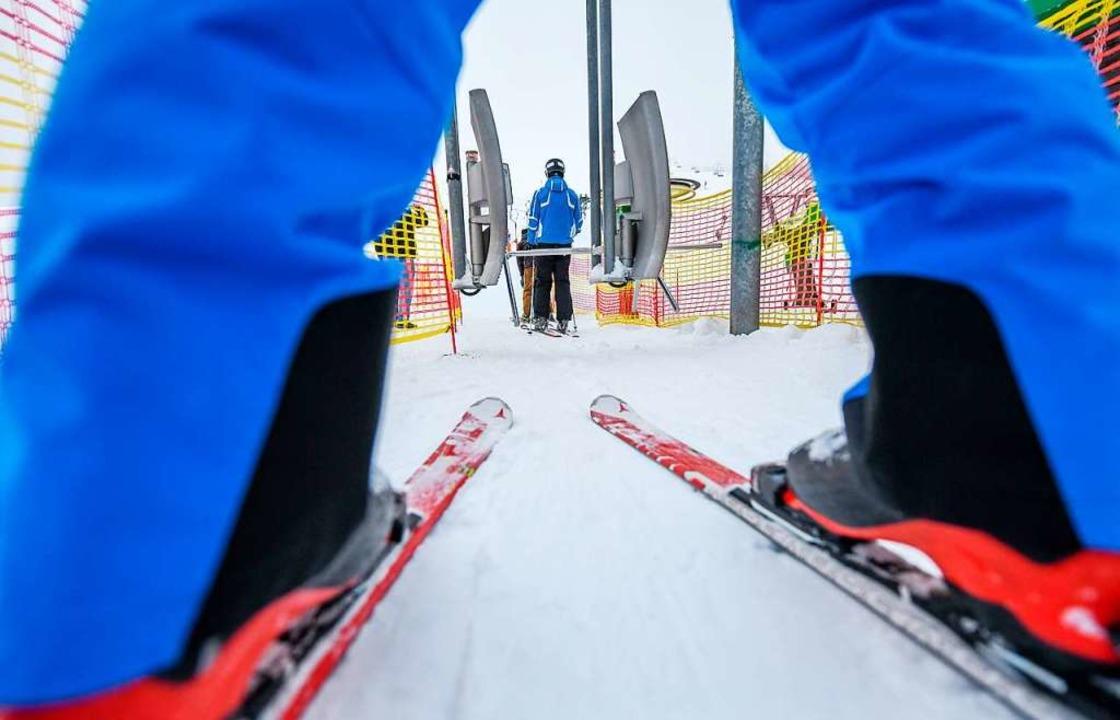 Skifahren, juchee!  | Foto: dpa