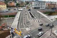 So kurz dauern Abriss und Neubau der Kronenbrücke im Zeitraffer