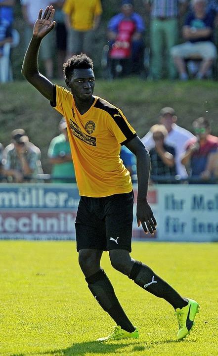 Ousman Bojang wechselt vom FV Sulz zum SC Lahr.   | Foto:  Schaller