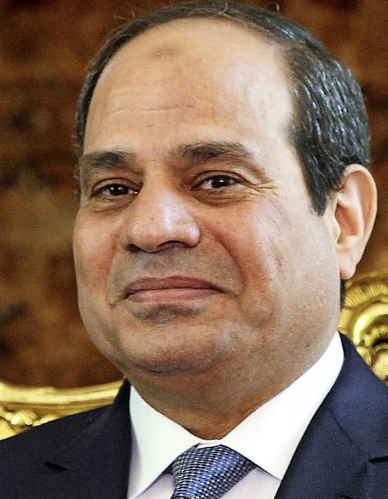 Präsident al-Sisi   | Foto: DPA